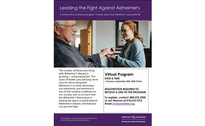 Leading the Fight Against Alzheimer's
