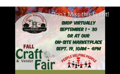 Centre Glenville United Methodist 6th Annual Craft & Vendor Fair