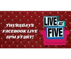 live at five logo