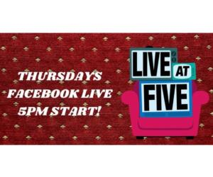 live at five logo