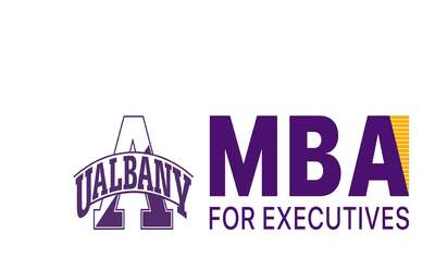 University at Albany MBA for Executives logo