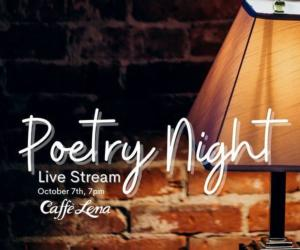 poetry night poster