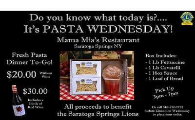 """Pasta Wednesdays"""