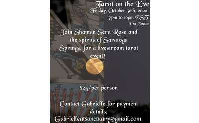 Tarot Event Flyer