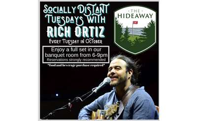 Socially Distant Tuesdays with Rich Ortiz