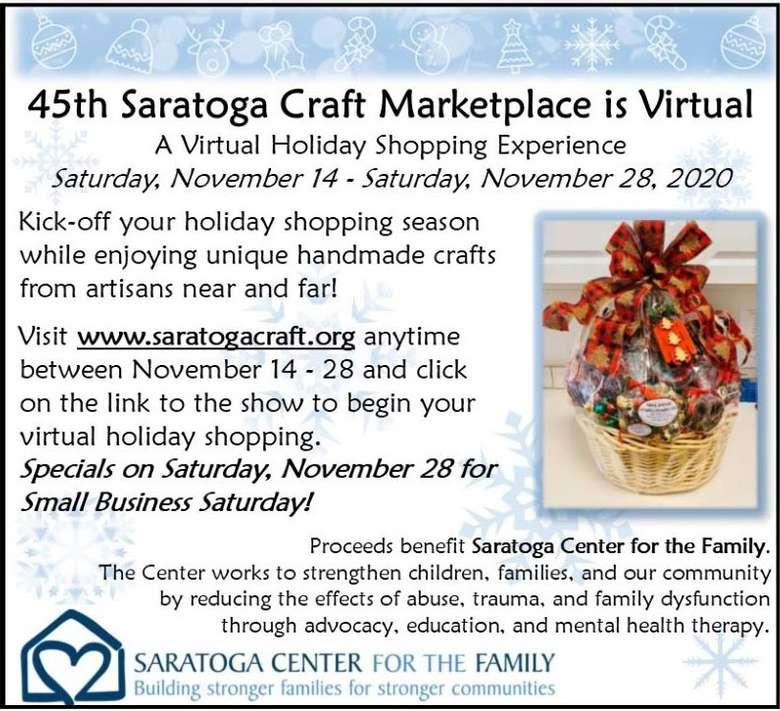 2020 craft marketplace flyer