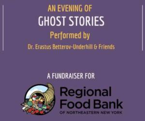 an evening of ghost stories poster