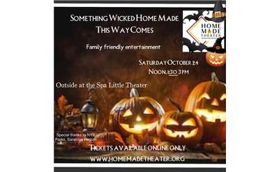 something wicked homemade this way comes event poster