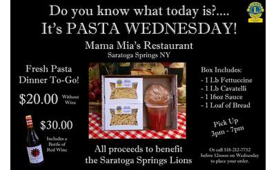 Pasta Wednesdays