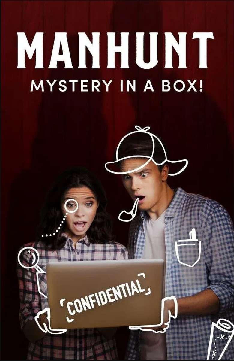 Manhunt event poster