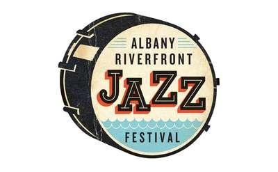 albany riverfront jazz festival logo