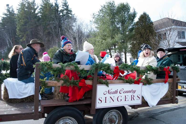 North Country Singers in parade