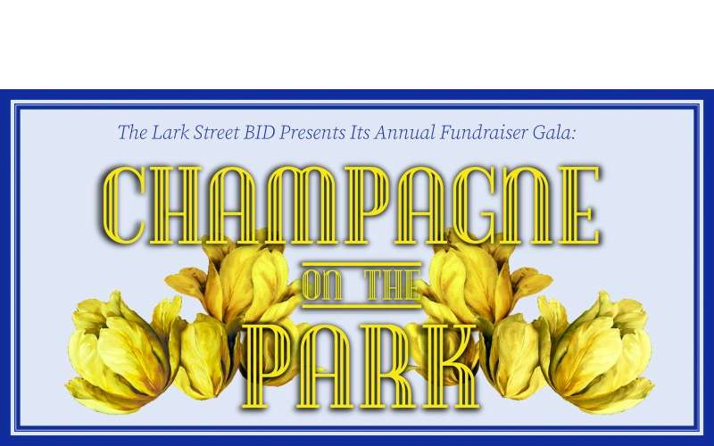 champagne on the park logo
