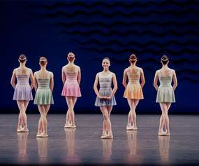 dancers performing in the ballet in g major