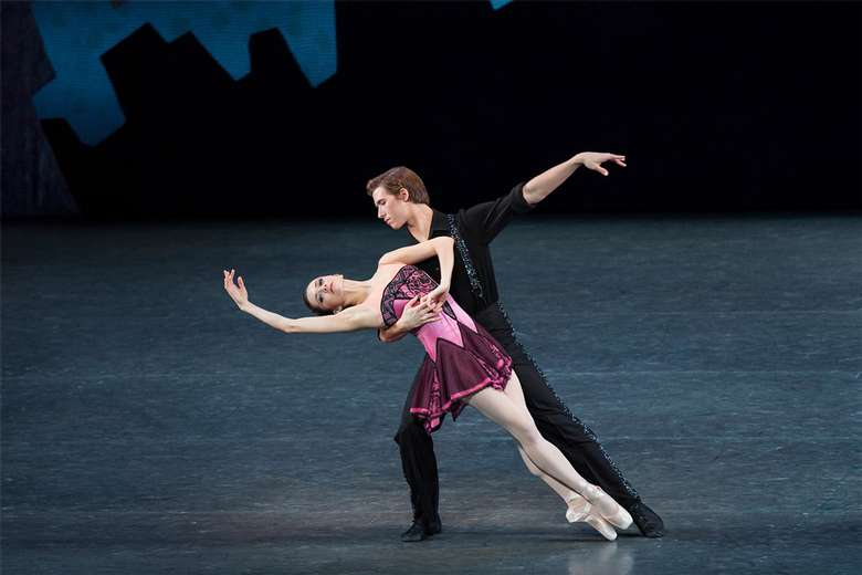 dancers performing in the ballet who cares