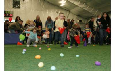 easter egg hunt indoors