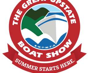great upstate boat show logo