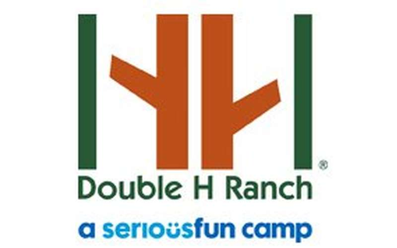 logo for double h ranch