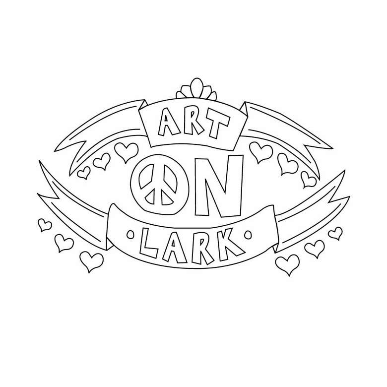 different Art on Lark logo