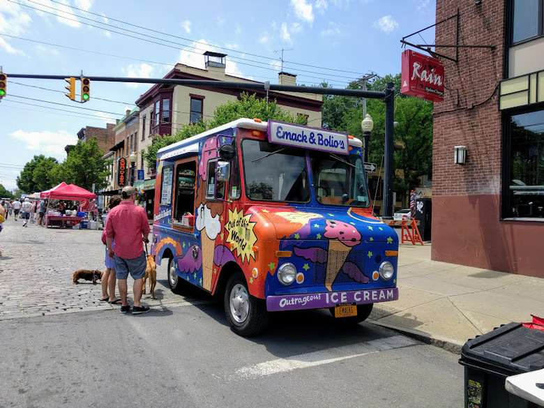 Emack & Bolio's Ice Cream food truck