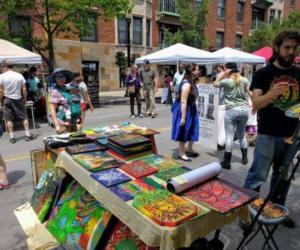 vendors on the street
