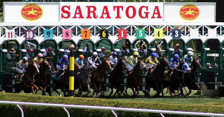 Saratoga Race Track Opening Day Thursday Jul 16 2020