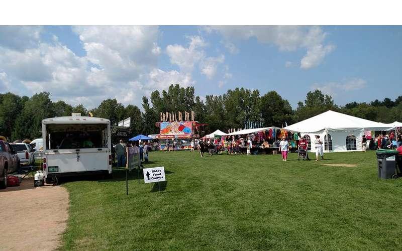 vendors at a festival