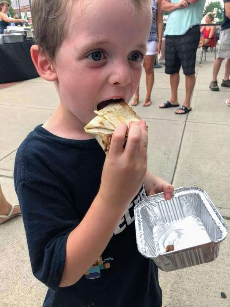 kid at Take a Bite