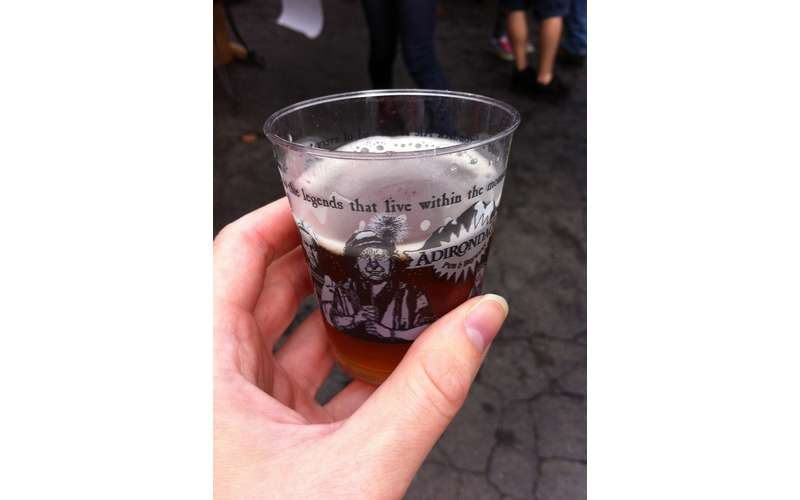 beer sample cup