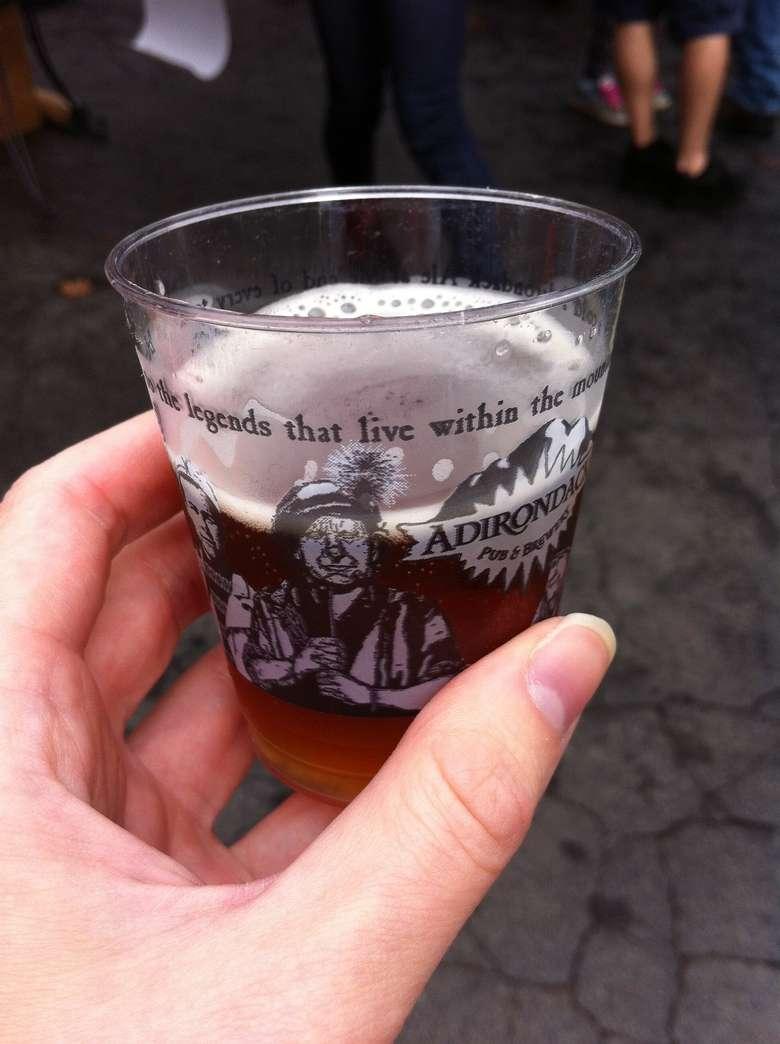 beer sample cup