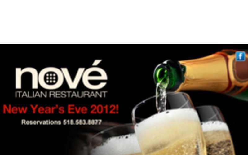 Nove Restaurant New Years Eve