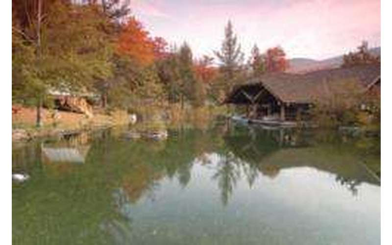 outdoor museum in fall