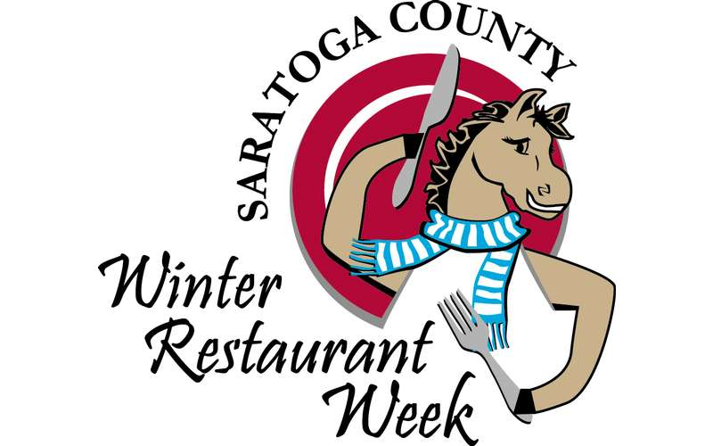 logo for saratoga county winter restaurant week