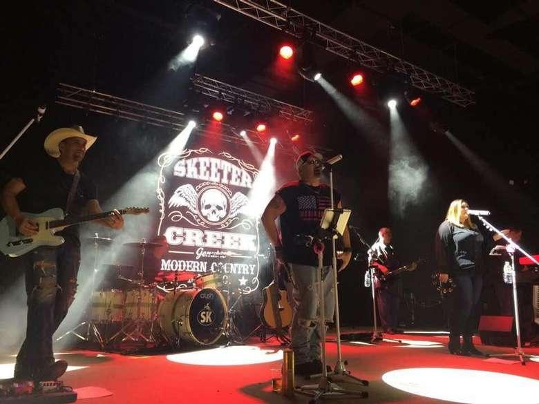 skeeter creek on stage