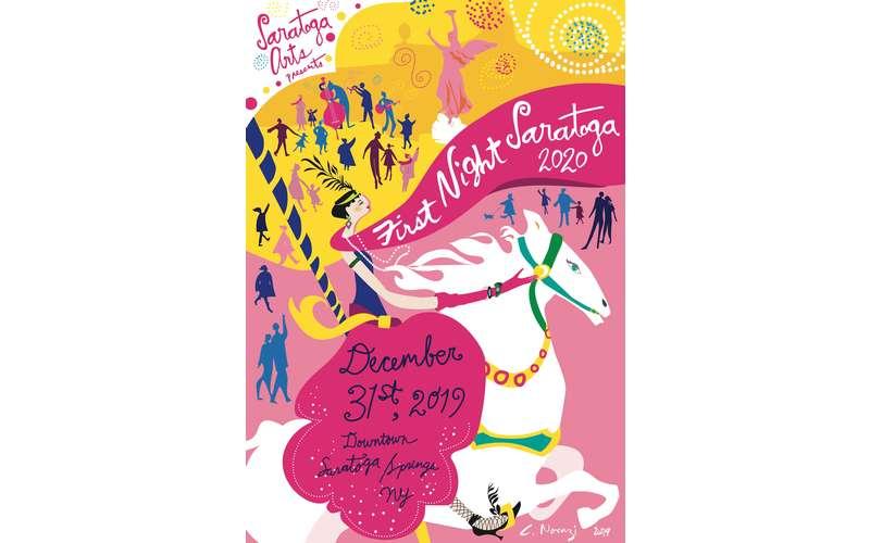 First Night Saratoga 2020 poster