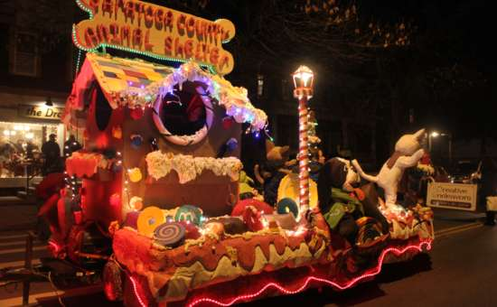 Ballston Spa Holiday Parade And Tree Lighting Friday