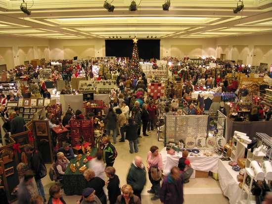 The 43rd Saratoga Holiday Craft Marketplace Saturday