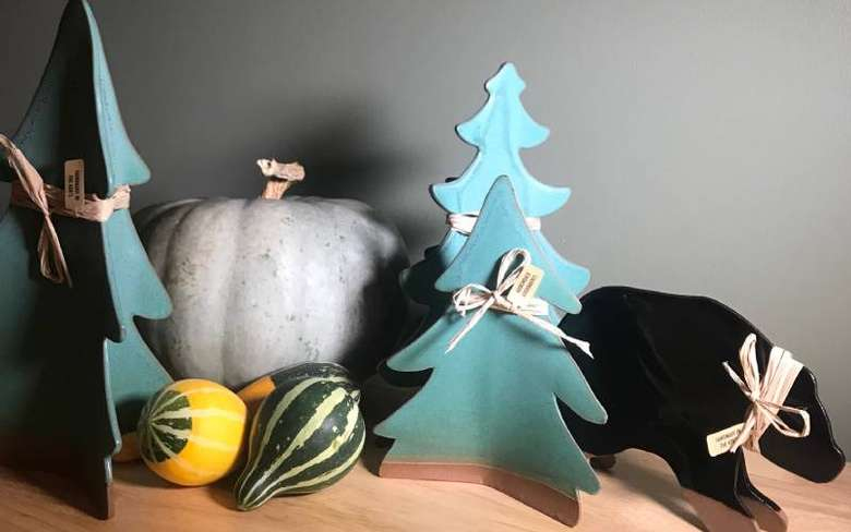 Ceramic Seasonal Figures