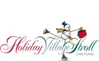 logo for holiday village stroll