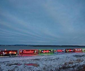 the cp holiday train
