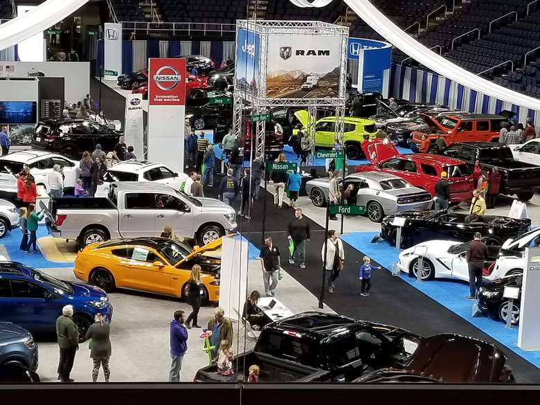 car show indoors