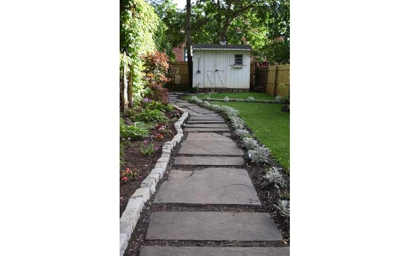 outdoor pathway