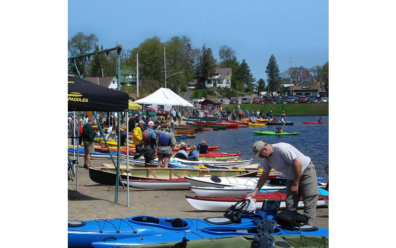 paddlefest outdoors displays