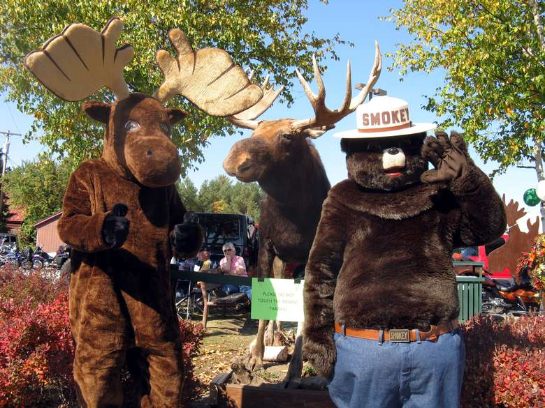 moose and smokey the bear