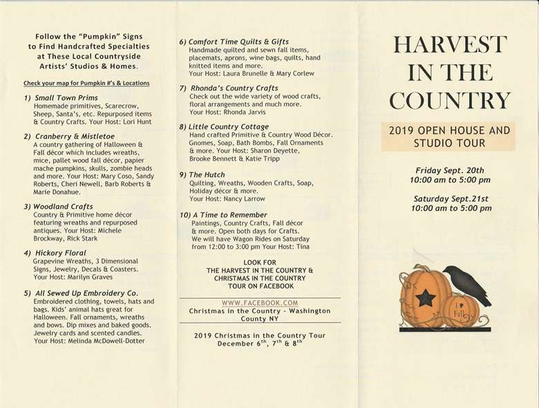 Harvest In The Country Flyer