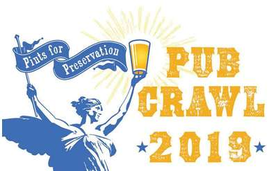 2019 Pints for Preservation Pub Crawl