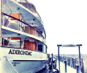 adirondac cruise ship in the snow