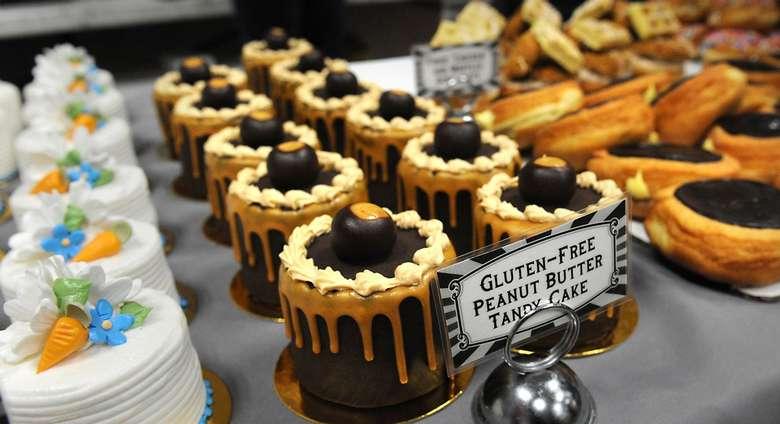 several desserts