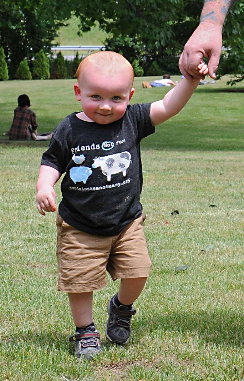 toddler with Friends Not Food shirt