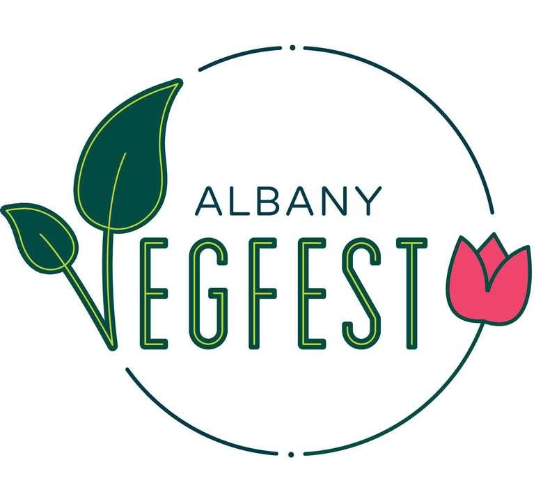 Albany VegFest Logo